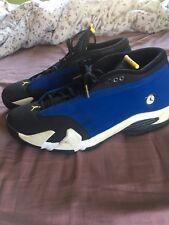 "Nike Air Jordan 14 XIV Retro Low ""LANEY"" Varsity Blue/Maize 807511-405 Size 13"