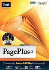 PagePlus X6, von Serif, Web Design erstellen Werbung Tischkarte Menu Karte Flyer