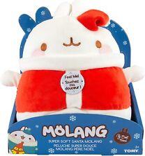 Molang Super Soft 10-inch Plush Santa molang BRAND NEW