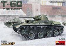 Miniart 1:35 t-60 avec t-30 Turret Soviet tank with Interior Model Kit