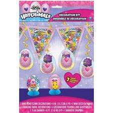 HATCHIMALS ROOM DECORATING KIT (7pc) ~ Birthday Party Supplies Centerpiece Swirl
