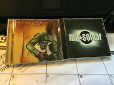MC SOLAAR 2 CD LOT: SELF TITLED AND MACH 6