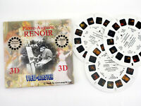 View-Master RENOIR - 3 reels NEW - art NEW - art paintings converted to 3d