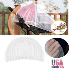 5pc Mosquito Net for Baby Stroller Infants Safe Mesh White Bee Insect Bug Cover