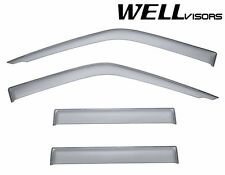 For 99-04 Nissan Frontier Crew Cab WellVisors Side Window Visors Premium Series