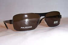 NEW HUGO BOSS Sunglasses 0316/S YCH-VW BROWN/BROWN POLARIZED AUTHENTIC 316
