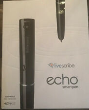 LiveScribe ECHO™ SMARTPEN 2 GB, includes one small notebook.  ships free. NEW