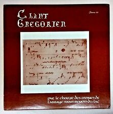 Benoit Du Lac (Import Vinyl LP Playtested) Chant Gregorien Messe De Saint Martin