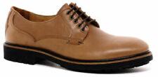 Hudson Jesset Tan Leather Quality Men's Derby Commando-Style Sole EU Size 40