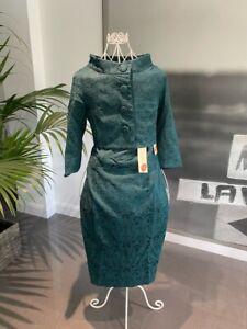 Lindy Bop Maybelle Emerald Green Vintage Dress