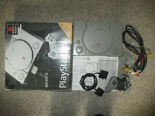 Sony PlayStation 1 Gray Console Complete in Box PS1 #150
