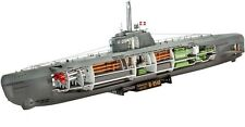 Revell-Germany   1:144 U-BOAT XXI TYPE W/INT RMG5078-NEW