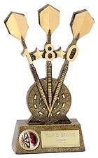 """Celebrate 180 Score DARTS Trophy 7.25"""" FREE ENGRAVING Personalised Award"""