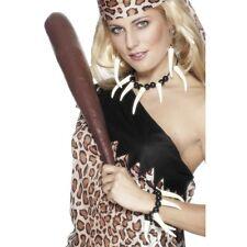 femmes adulte unisexe femme des cavernes Déguisement Collier & bracelet