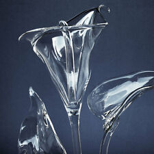 Calla Lily Lilies Figurine Blown Glass Marble Crystal