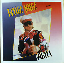 Elton John - Nikita - Maxi LP - washed - cleaned - # L 1692