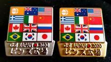 2020 TOKYO OLYMPIC * GO JAPAN 2020 * pin badge set