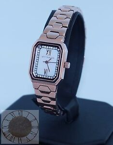 Wittnauer Women's Madelyn Rose Gold Tone Watch WN4052, New