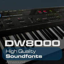 KORG DW8000 SOUNDFONT LIBRARY 425 SF2 FILES 3426 HQ SAMPLES PC MAC LOGIC FL