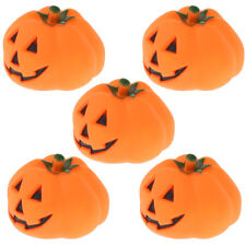 5Pcs Pack Halloween Christams Dog Squeaky Toys Pumpkin Pet Toy for Gift