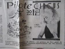 "DISPARITION DE ""PILOTE"" APRES ""CIRCUS"": MATIN ! QUELLE HECATOMBE... - 31/10/1989"