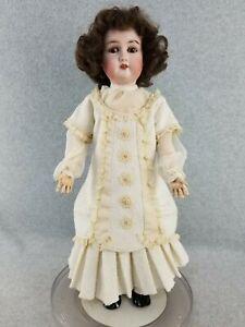 """22"""" antique bisque head composition German Gebruder Kuhnlenz Doll"""