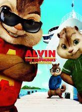 POSTER LOCANDINA FOTO ALVIN SUPERSTAR AND THE CHIPMUNKS 2 3 SI SALVI CHI PUO' #5