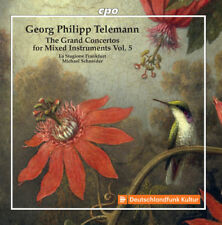 Telemann - Grand Concertos for Mixed Instruments [New CD]