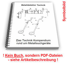 Metalldetektor selbst bauen - Metall Detektor Metallsuchgerät Technik Patente