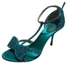Giuseppe Zanotti $1,4200 Rhinestone Bow T-strap Stain Heels (Size: 38.5EU/8US)