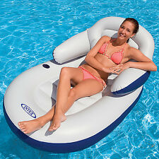 Intex Matratze Luftmatratze Pool Sessel Lounge Badeinsel Wasserliege Luftbett