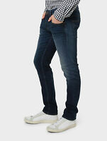 Tom Tailor Herren Selvage Selvedge Slim Fit Stretch Jeans Hose - Aedan 1053