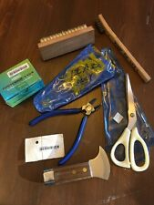 Stained Leaded Glass Tools, Knife, Dykes, Shears, Nails