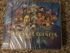 Sealed Tales Of Legendia Japanese Import Namco 3 Disc USA Seller