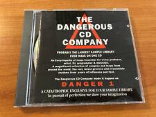 Sampling CD **Dangerous** 300 Loops, Roland TR-808, 909, Data Stream AKAI s1000