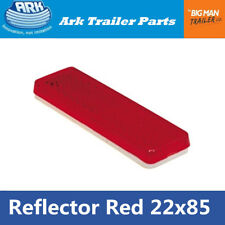 1 Red Reflector 85mm x 22mm Self Adhesive Trailer Caravan Tail Light Truck Stick