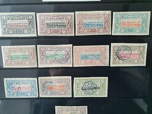 Briefmarken Dschibuti,Somalia,20er Jahre,kleines Lot, französisches Protektorat