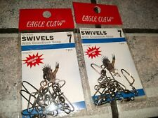 Eagle Claw 01122-007 Crane Swivel. Delivery is Free