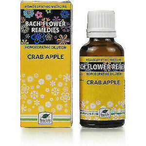 New Life Bach Flower Crab Apple (30ml) PURE AYURVEDIC REMEDY