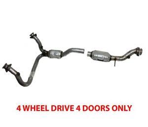 Fits Chevrolet Blazer 00-05 4.3L 4 Wheel Drive 4 Doors Front Catalytic Converter
