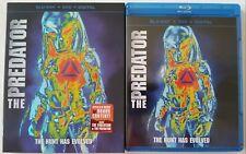 THE PREDATOR BLU RAY DVD 2 DISC SET + SLIPCOVER SLEEVE FREE WORLDWIDE SHIPPING
