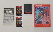 Complete Working Intellivision Tron Deadly Discs R6306