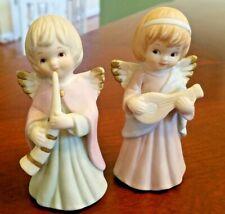 Lefton Porcelain Vintage Angel Figurines 05019