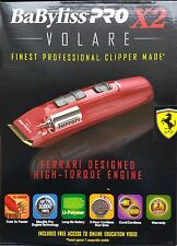 Babyliss Pro FX811 X2 Volare Cord/Cordless Clipper 100-240 Volts