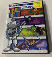 Teen Titans The Complete Second Season 2 Dvd New Ss Sealed Dc Comics
