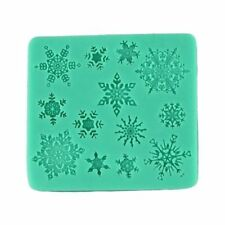 65036 snowflakes silicone cake decorating cutters molds chocolate mould Xmas