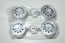 TAMIYA 1/10 lancia 037 rally plated wheels 4pcs