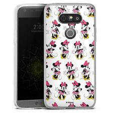 LG G5 Silikon Hülle Case - Minnie Mouse - Pattern