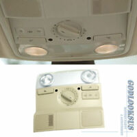 Front Dome Light Map Reading Lamp W//O SUNROOF BEIGE OEM For VW 1K0947105P95T