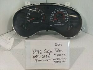 USED 1996 Eagle Talon/Speedometer Cluster(Drivers Quality)